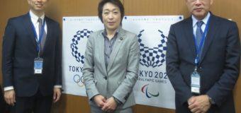 橋本聖子参議院議員とスポーツ関係の懇談